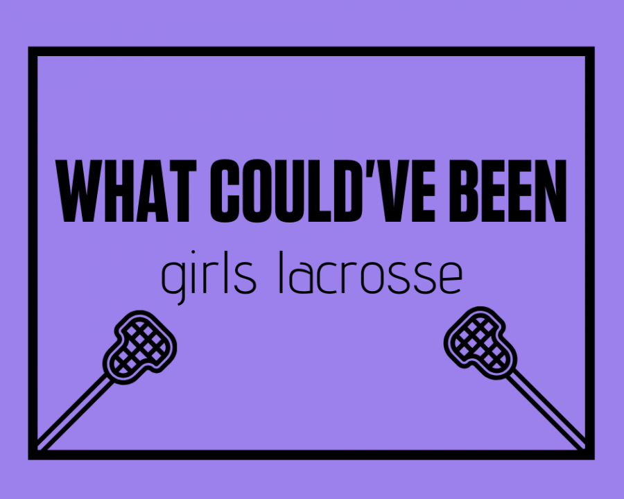 Athletes from the girls lacrosse team look back at