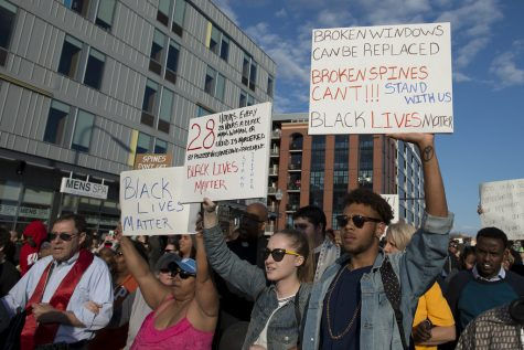 Americans take to the streets to protest the death of George Floyd.