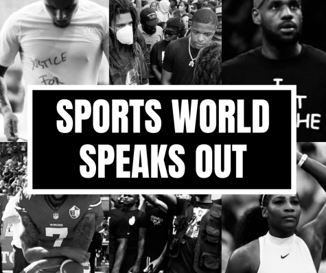 Athletes in the sports world speak out.