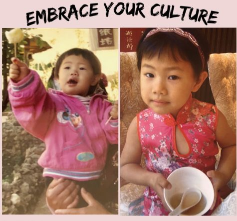 Alena Zhang ('23), ages 1 and 5, experiencing the different street and restaurant food in China.