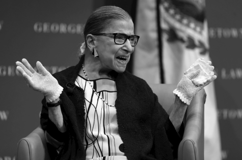 "RBG felt honored by her internet fandom when asked about her nickname, ""The Notorious RBG."""