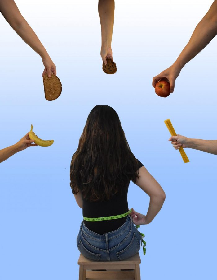 Individuals with an eating disorder are very self-conscious and are always aware of what they eating.