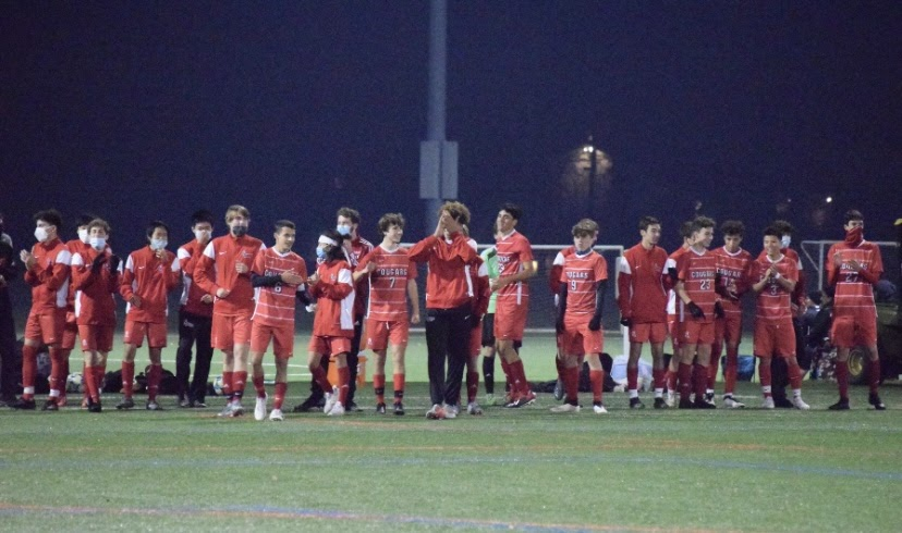 No. 6 Cherry Hill East Boys Soccer defeats No. 11 Rancocas Valley in Round One of the South West Group 4 Playoffs.