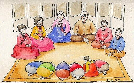 My Korean New Year's Day Celebration
