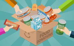 Navigation to Story: Cherry Hill Easts hosts a canned food drive
