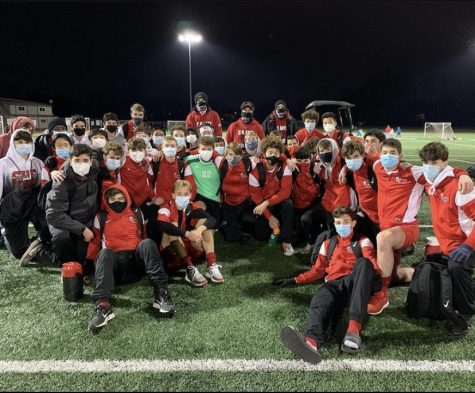 The boys soccer team had a remarkable season and didn
