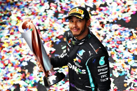"Lewis Hamilton has been recently been labeled as the ""GOAT"" of F1."