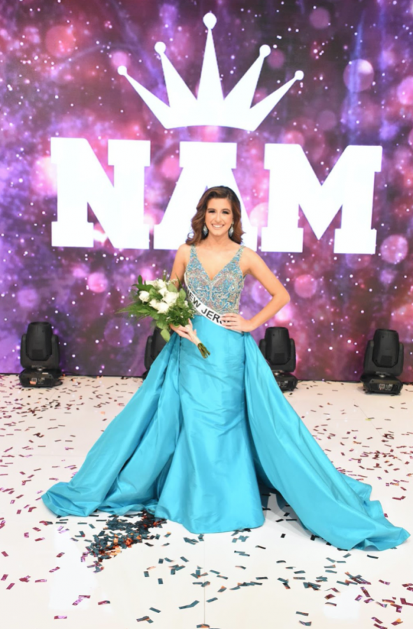 Wilson has worked hard to be crowned Miss Junior Teen third runner-up at the National American Miss pageant.