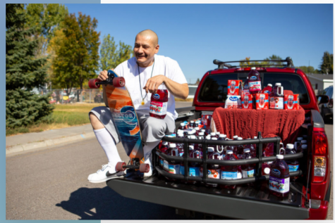 "Tik Tok star, Nathan Apodaca, is gifted a truck full of Ocean Spray cranberry juice after his ""Dreams"" Tik Tok goes viral."