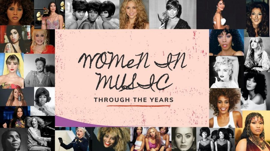 Women have faced adversity in the music industry throughout the years