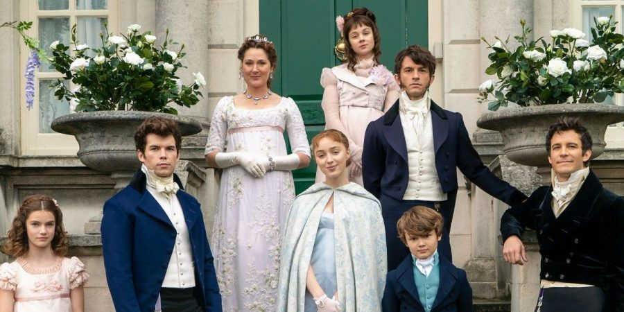 The trending Netflix show focuses on the Bridgerton family, an upper class family in London, England.