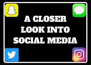 Social media is very influential and plays a major role in everyone's lives.