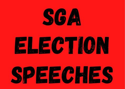 The elected officers each had specific ideas that they outlined in their speeches.