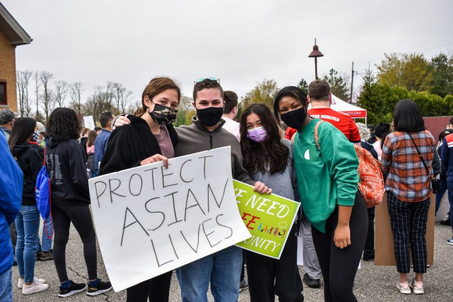 PHOTOS: Anti-Asian hate rally (04/10/21)