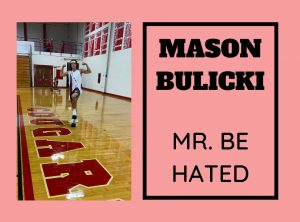 Mason Bulicki ('21) is very excited for the 2021 Mr. East competition.