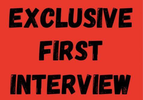 Aiden Rood ('23) interviews SGA President-elect Devyn Levin ('22).