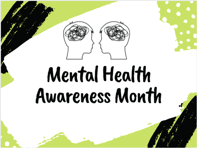 The month of May is Mental Health Awareness Month, and Eastside presents our tribute to this special month.