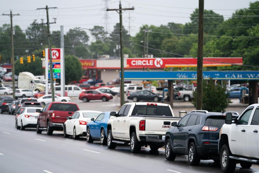 Many rushed to gas stations after the news about the Colonial Pipeline broke, which experts say caused the panic.