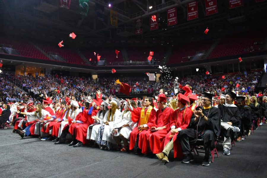 The venue for the East graduation this year has changed from the usual Temple University to the football stadium at Cherry Hill West.