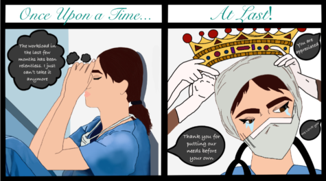 COMIC: Healthcare Workers Risk Their Lives for Us