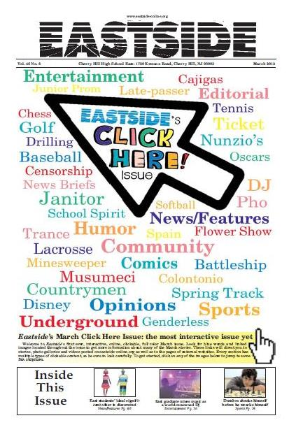 Eastside publishes first-ever Click Here issue