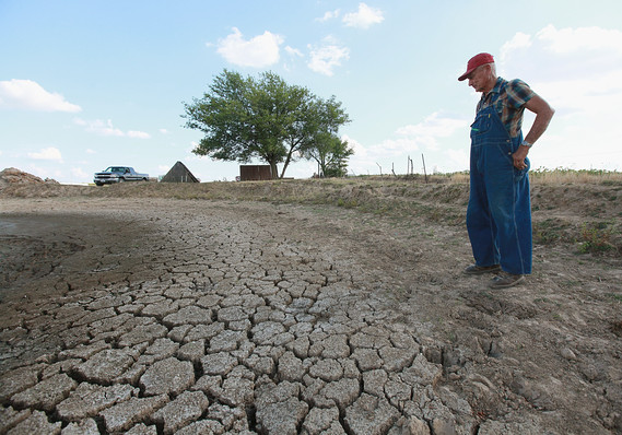 Drought affects major countries