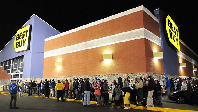 Black Friday becomes Black Thursday, at the expense of Thanksgiving