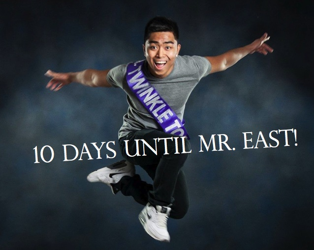Mr. East Countdown: Mr. Twinkle Toes—10 days to go!