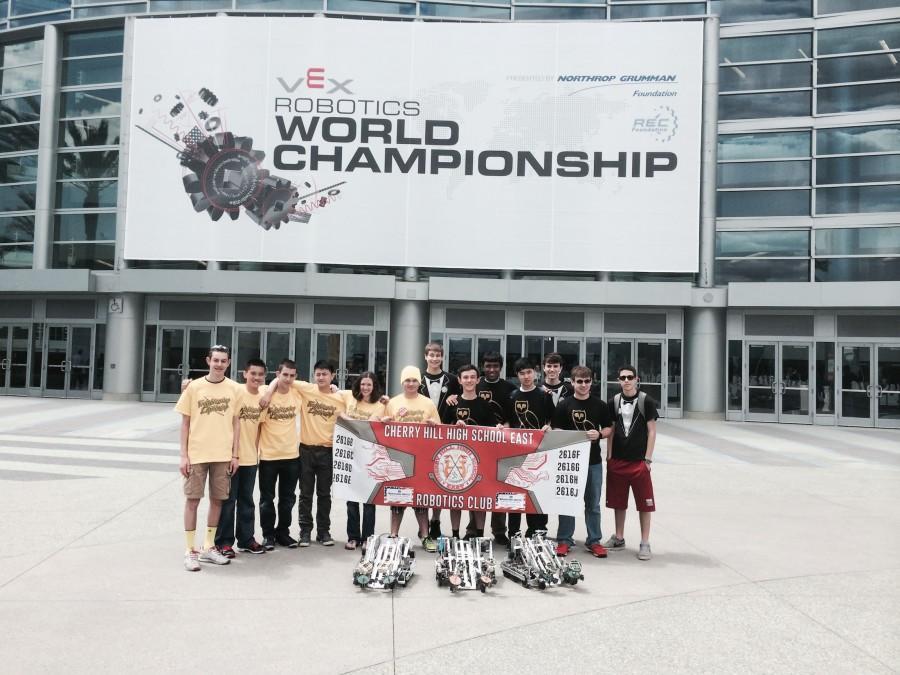 Robotics club sends three teams to world championships