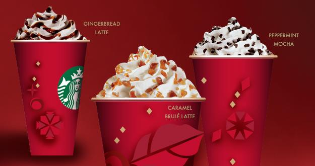 Starbucks introduces a new holiday flavor to its customers.