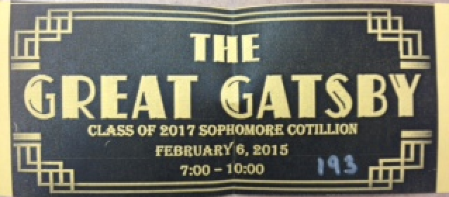 Students can buy their Sophomore Cotillion tickets until Thursday, Feb. 5.
