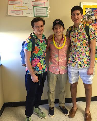 East students dress up for Tropical Tuesday
