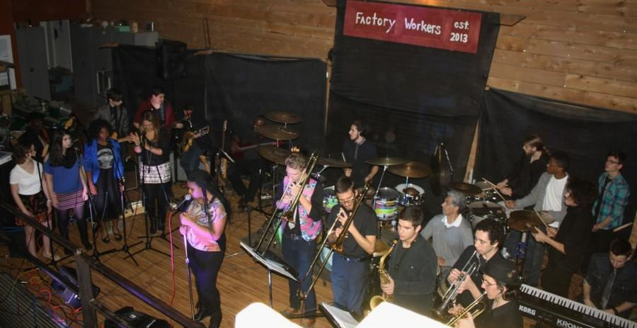 Inspiration East performs at The Factory.