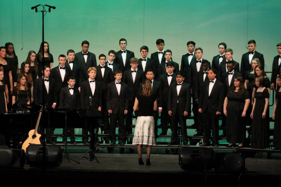 East Choral concert kicks off the new year.