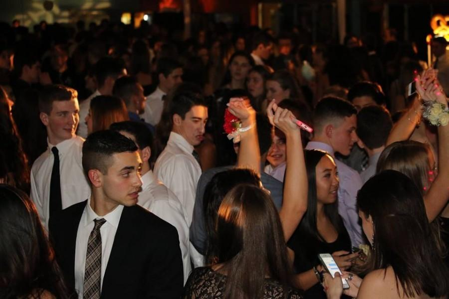 East students have a great time at Sophomore Cotillion.