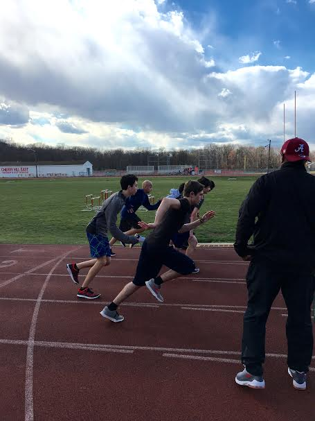 East track team starts the season on the right foot.