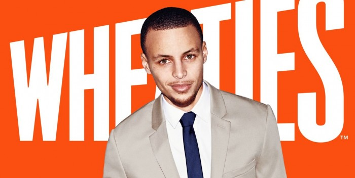 Wheaties cereal features athletes on its boxes