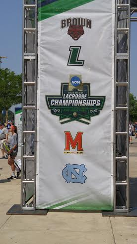 The NCAA held its annual Men's Lacrosse Championships over Memorial Day weekend at Lincoln Financial Field in Philadelphia.