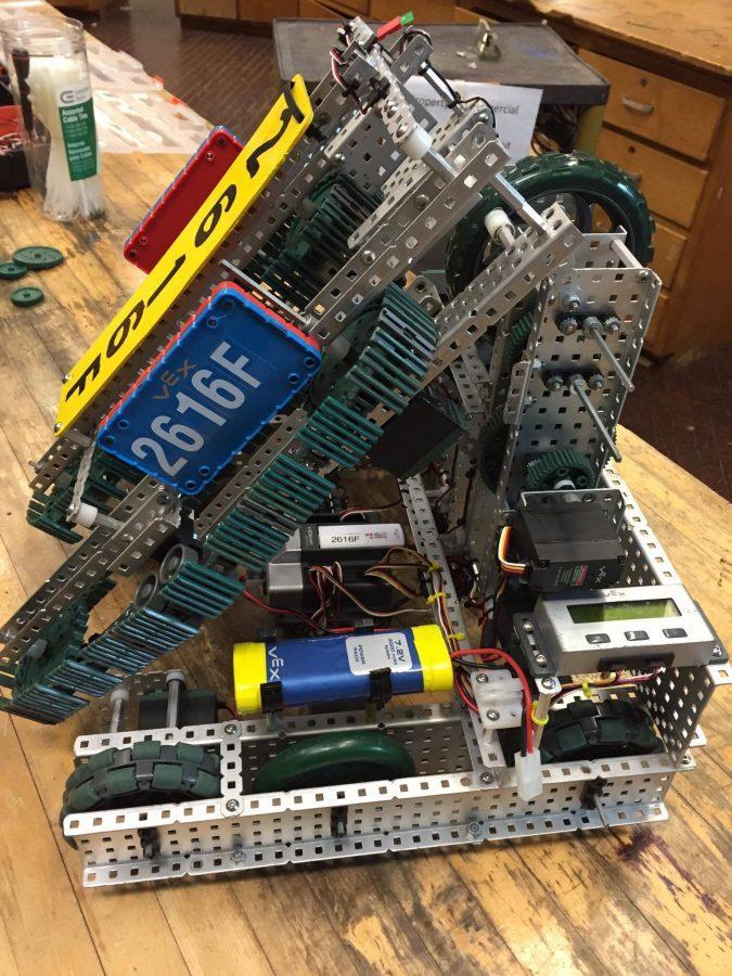 The winning 2616F Robot.
