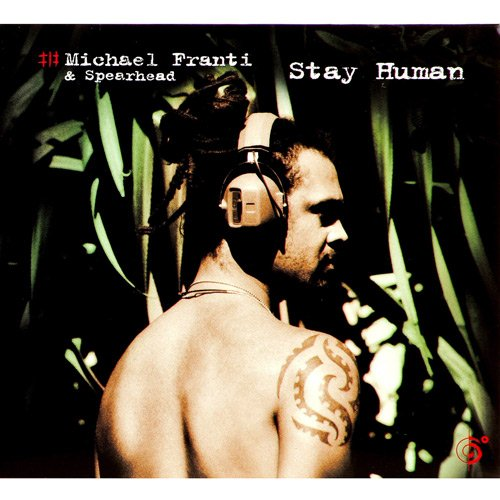 Franti poses for the cover of his third studio album, Stay Human.