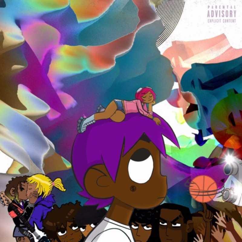 Lil Uzi Vert's album cover for his fourth studio album