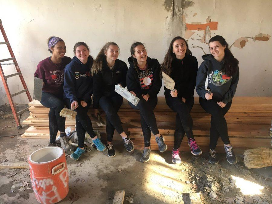 Cherry+Hill+East+students+participate+in+Habitat+for+Humanity.