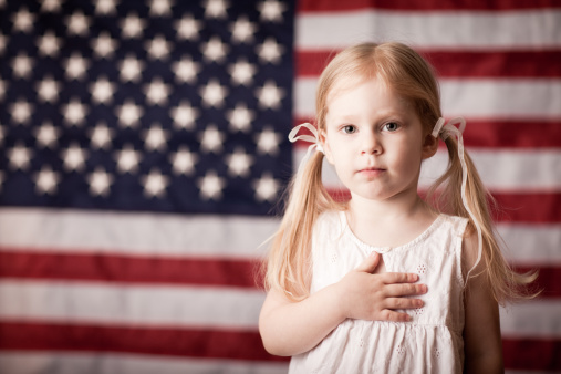 Many of us do not realize this, but every time we say the Pledge of Allegiance, we praying to the Catholic God.