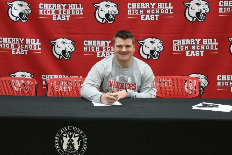 Ryan Swenson ('17) commits to East Stroudsburg University of Pennsylvania.