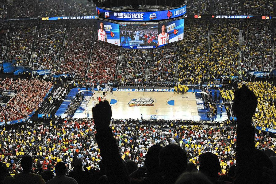 The Final Four takes place this upcoming Saturday.