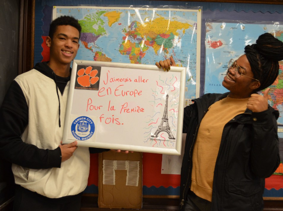 So far, Mrs. Paula Saillard and her students have raised $26,000 of their goal, $40,000.