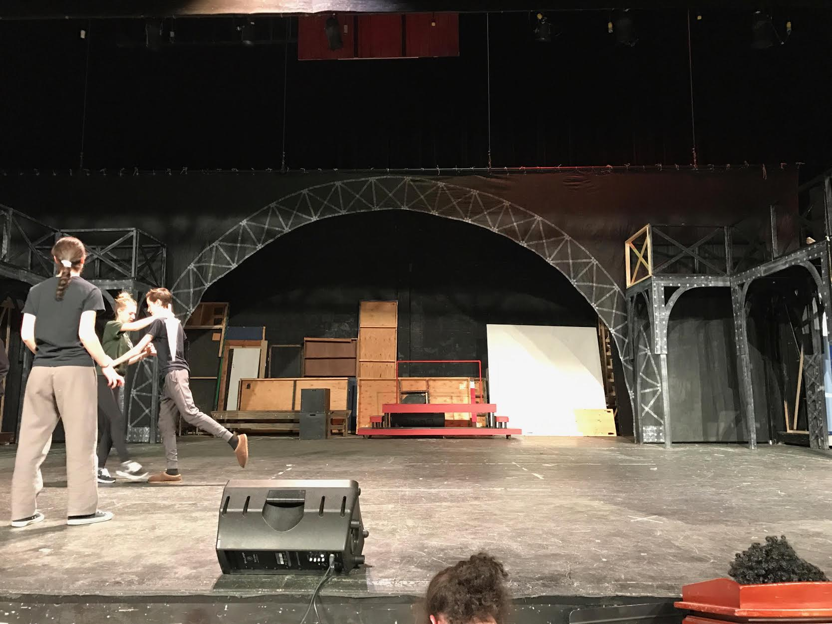Stage Crew brings the show to life
