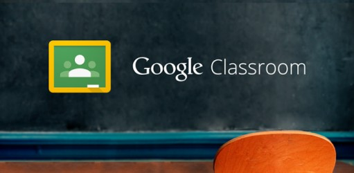 Students use Google Classroom in the voting process.