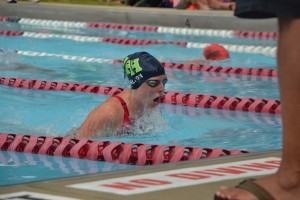 East students participate in summer swim teams.