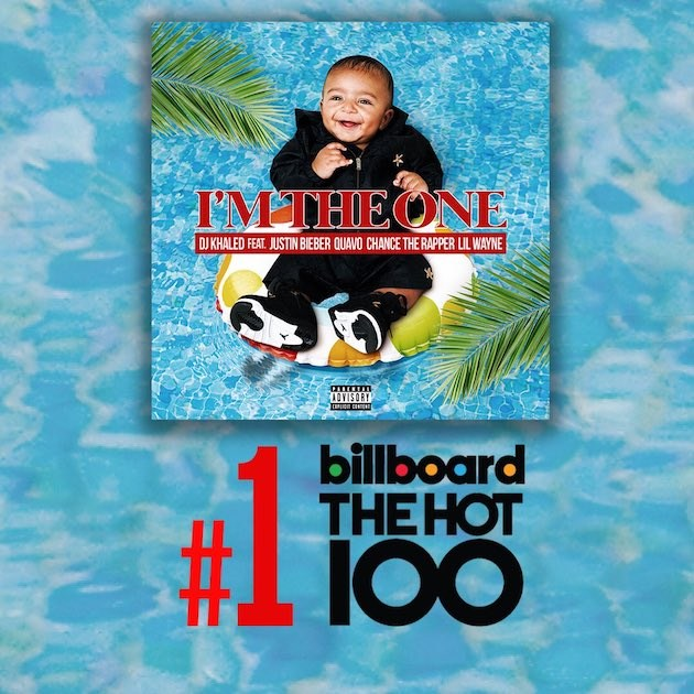 Im the One topped Billboards The Hot 100 chart.